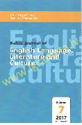 Baltic journal of English Language Literature and culture Volume 7 / 2017